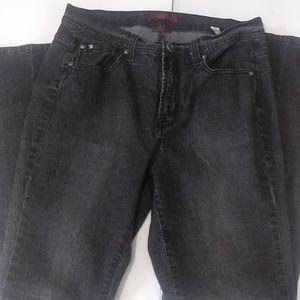 Jeanstar Washed Black Size 14 Jeans